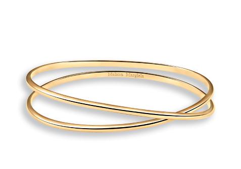 Maison Margiena_Anamorphose Jewellery_gold bracelet